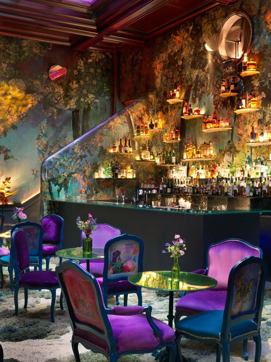 Step Inside The Glade London S Newest Must See Boite Restaurant