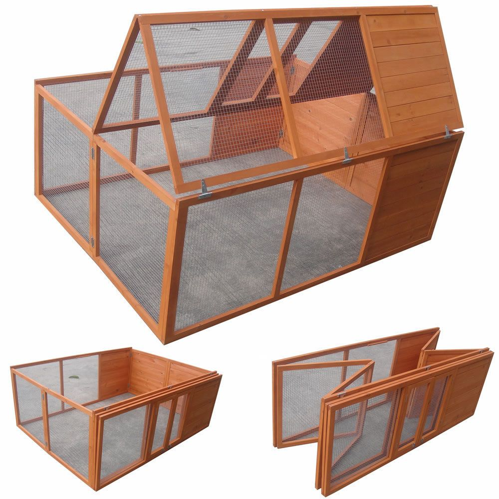 freigehege faltbar f r kaninchen meerschweinchen freilauf gehege kleintierstall in. Black Bedroom Furniture Sets. Home Design Ideas