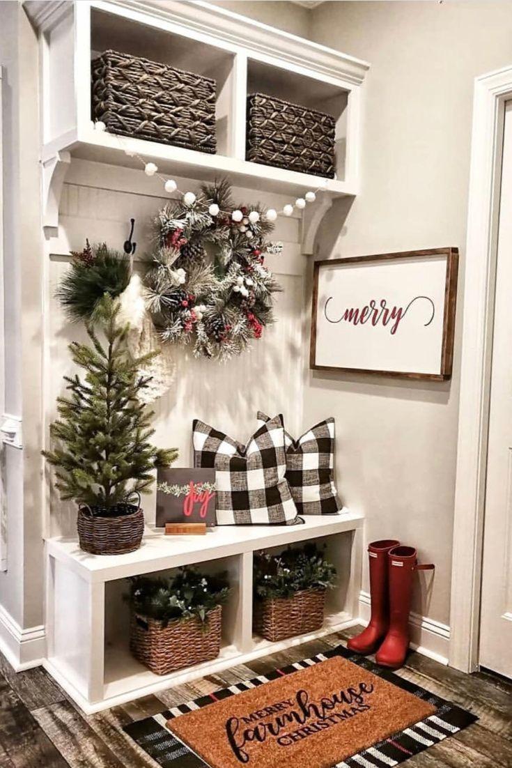 97 Farmhouse Christmas Decor Ideas For Your Home