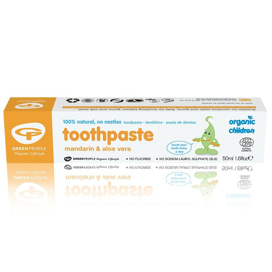 Organic Children Mandarin & Aloe Vera Toothpaste 50ml