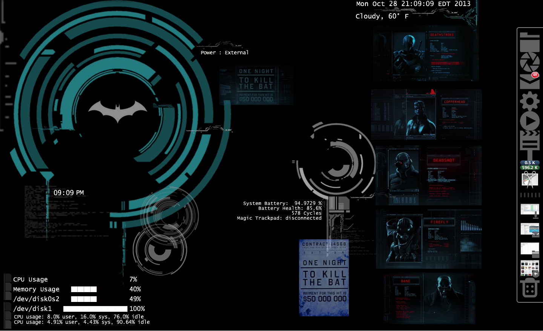 Finished Updating My Bat Computer Batman