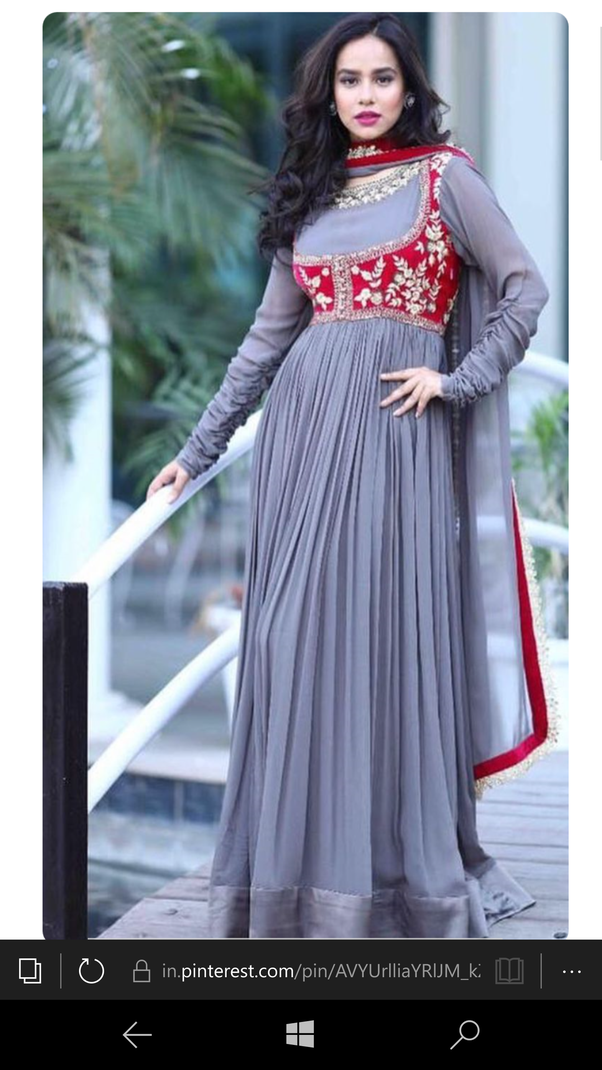 617f135114ff What color matches with gray? - Quora | indian fashion in 2019 ...