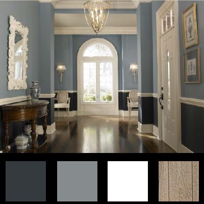 couloir 2 couleurs | Inspiration Maison | Pinterest | Couloir ...