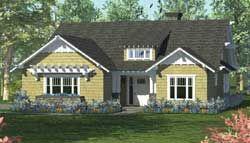 Craftsman House Plan 4 Bedrooms 3 Bath 2519 Sq Ft Plan 106 698