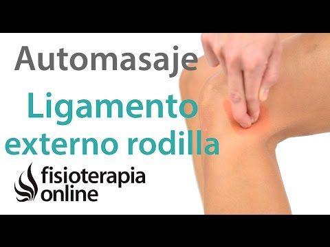 Esguince Del Ligamento Lateral Externo De La Rodilla Masaje Para Su Tratamiento Automasaje Ejercicios Para Rodillas Masaje