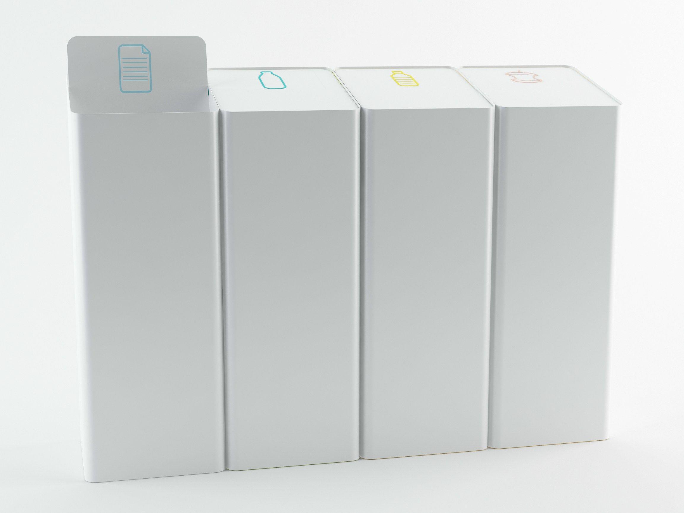 poubelle de tri s lectif berna by made design design stone designs equipe 5 la pinterest. Black Bedroom Furniture Sets. Home Design Ideas