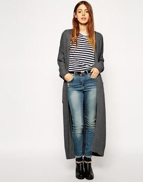 a9e6995f3072 ASOS Maxi Cardigan With Alpaca Wool | My Style | Pinterest | Kleding