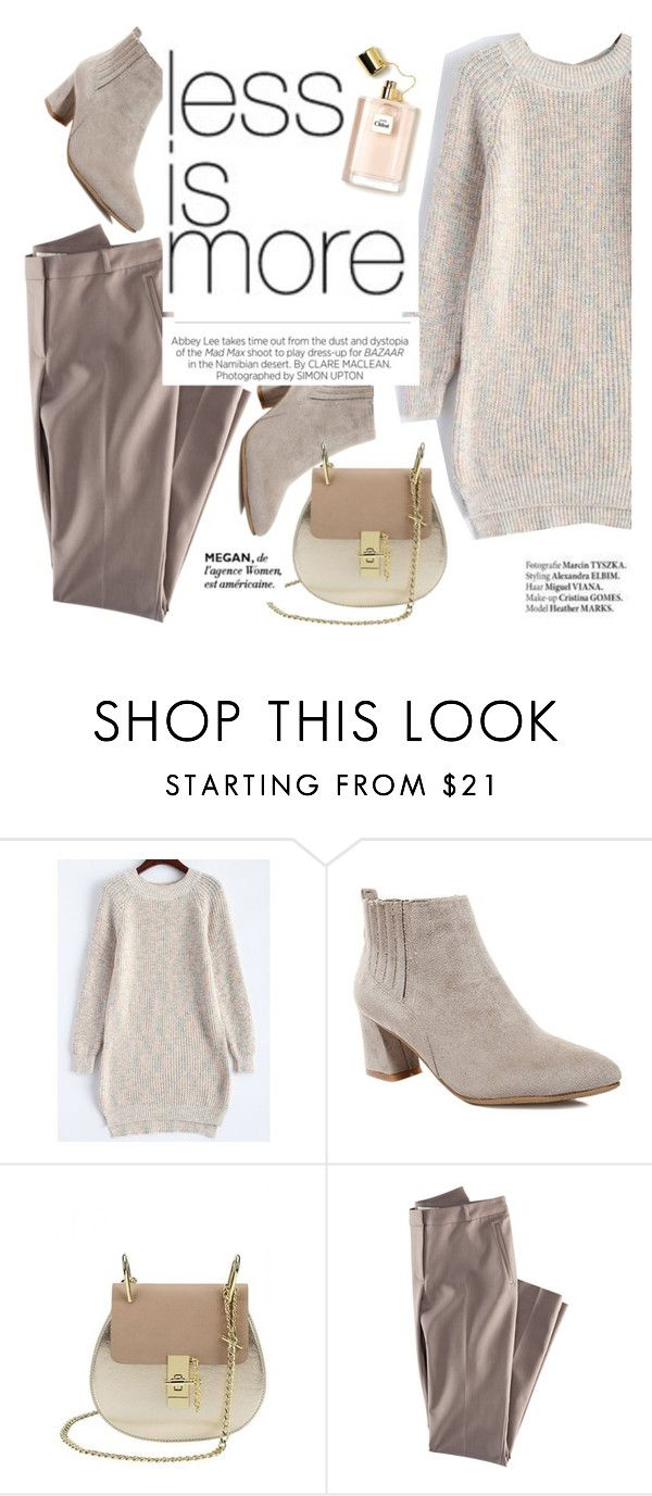 """Less is more"" by punnky ❤ liked on Polyvore featuring H&M, Kershaw and Haute Hippie"