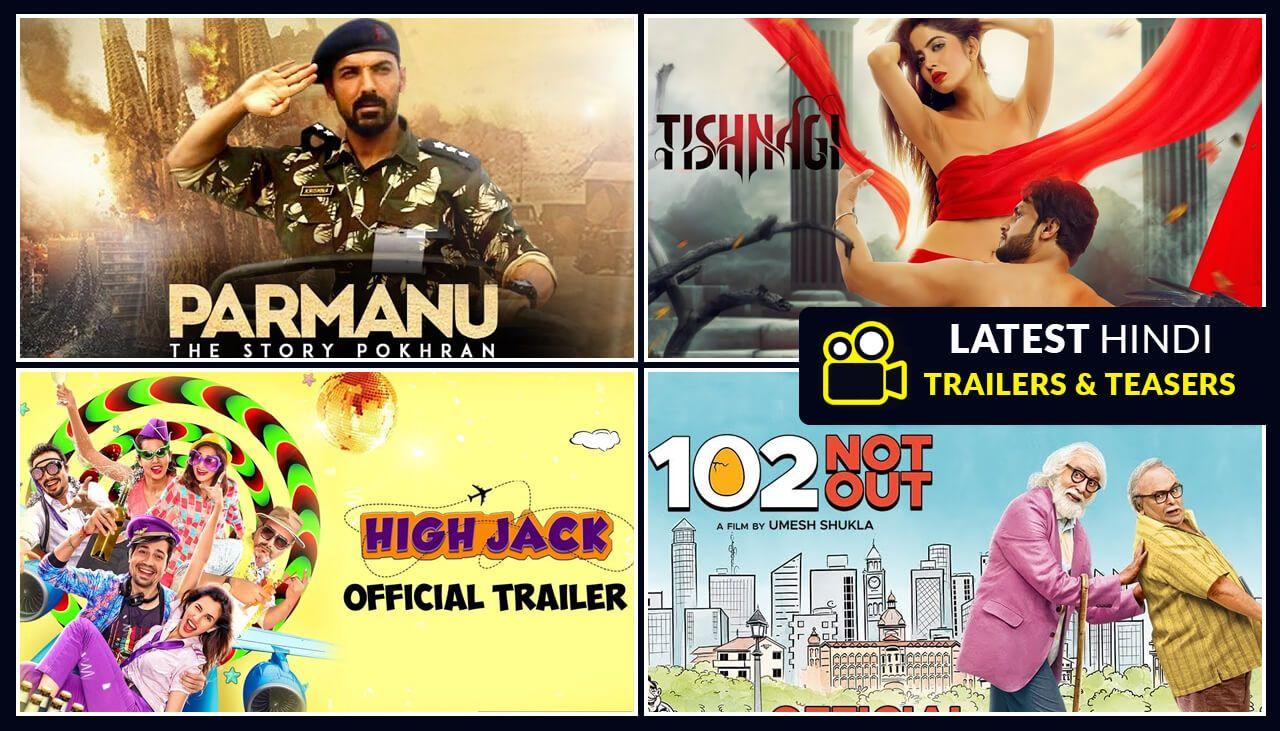 recent hindi movies trailer