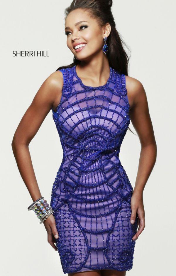 Diseño de encaje en color azul klein | Trajes de Coctel y Vestidos ...
