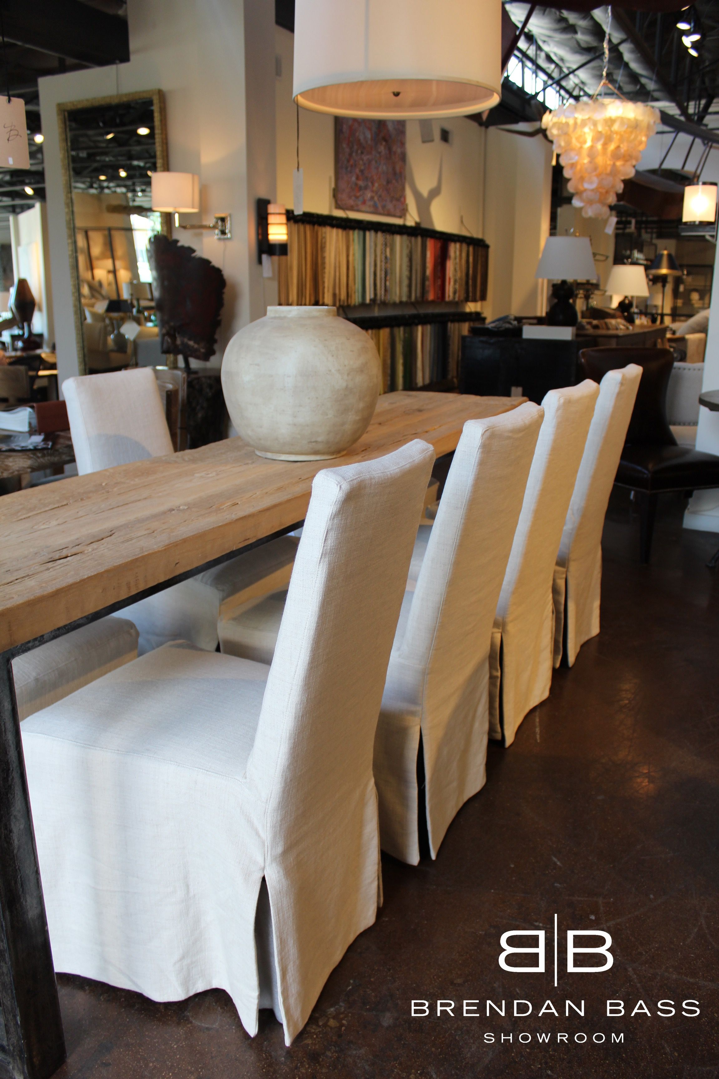 Slip Cover Dining Chairs