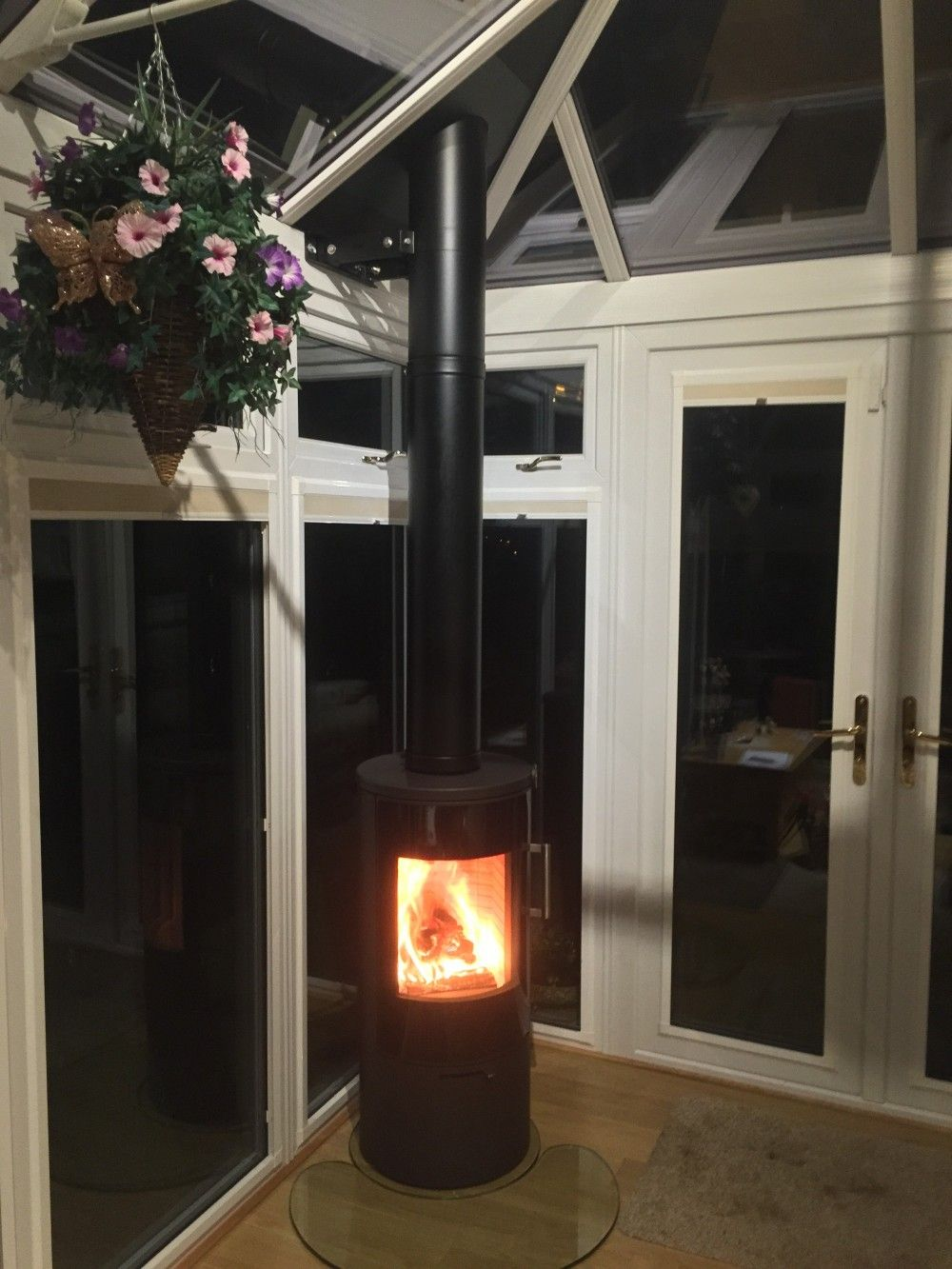 Fixing down the EPDM flashing | Contura 51L stove in a ...