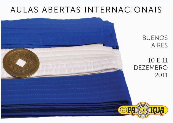 Banner for the International Open Classes, Buenos Aires, 2011