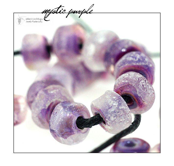 Mystic Purple Seed Beads