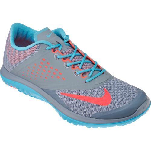 womens nike blue free run 2 trainers academy