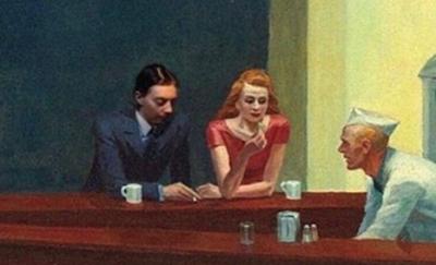 Reviewbrah Edward Hopper Nighthawks Cafe Edward hopper