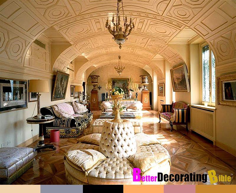 Celebrity Home: Inside Donatella Versace\'s Apartment | Donatella ...