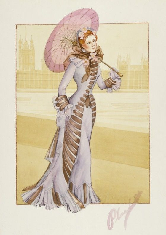 Costume Designer Walter Plunkett Influence On Fashion And The Movies Costume Design Sketch Hollywood Costume Costume Design