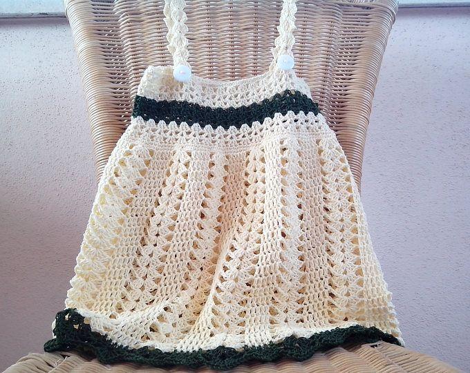 Excepcional Patrón De Crochet Capó Motivo - Patrón de Vestido de ...
