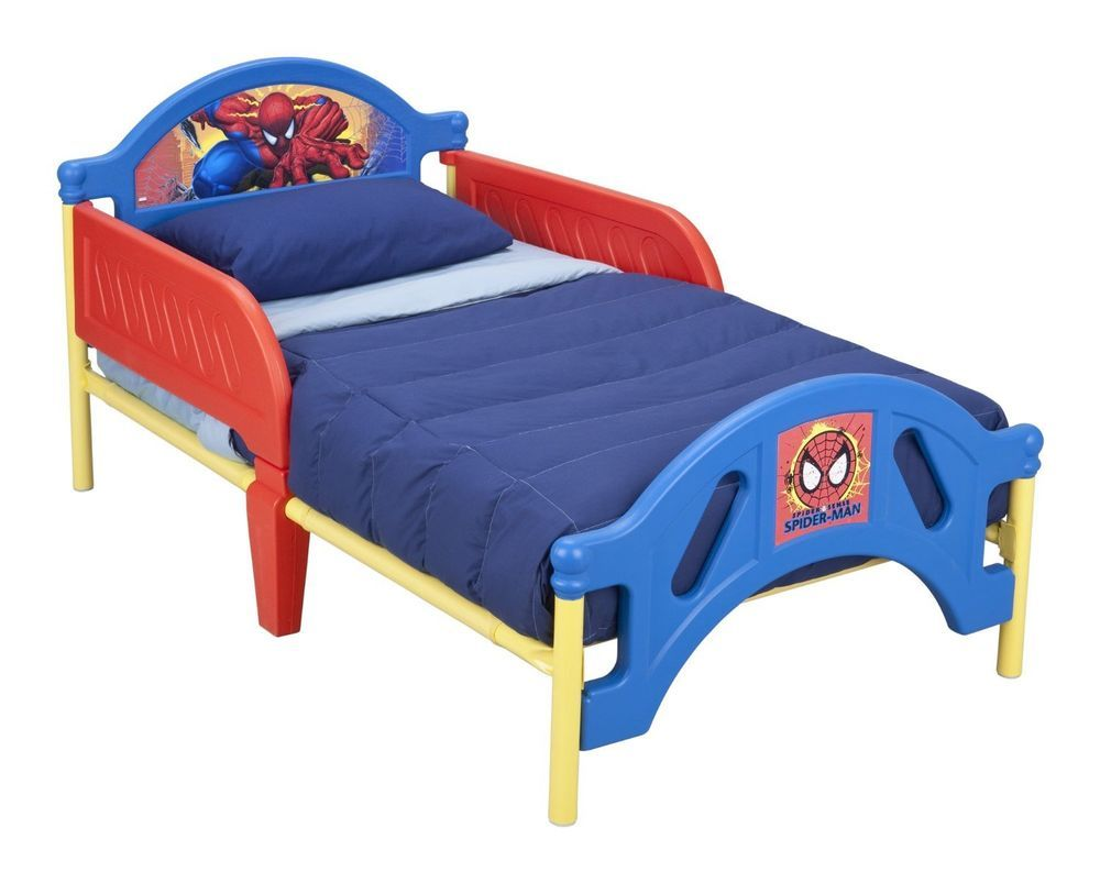 Delta Enterprise Spiderman Toddler Bed Red #deltaenterprise  Ebay Impressive Spiderman Bedroom Furniture Decorating Design