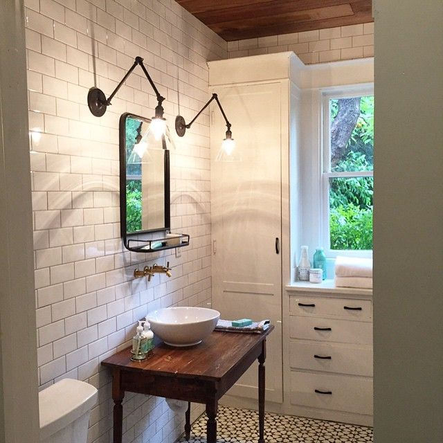 Another Reveal This Week! Shiplap And Subway Tile #cantstopwontstop