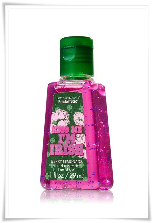 Kiss Me I M Irish Berry Lemonade Pocketbac Bath And Body Body