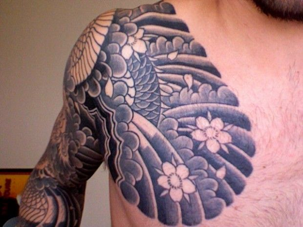 30 Best Chest Tattoos For Men Tattooton Tattoos For Guys Chest Tattoo Men Cool Chest Tattoos