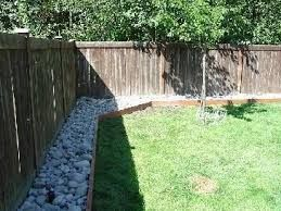 image result for easy garden ideas along fence line