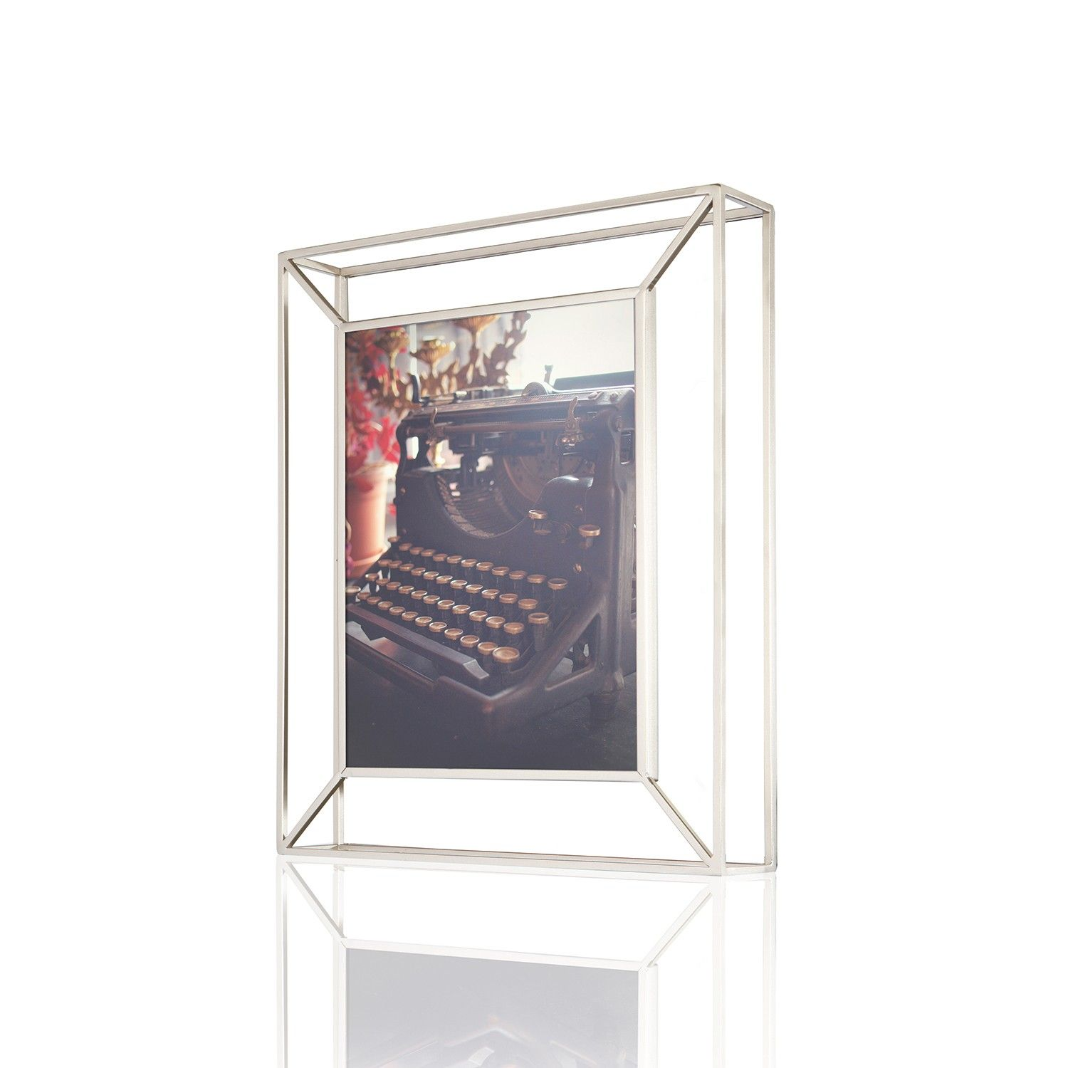 Matrix 8x10 Frame Nickel Picture Frames Wall Frames Picture Frame Wall