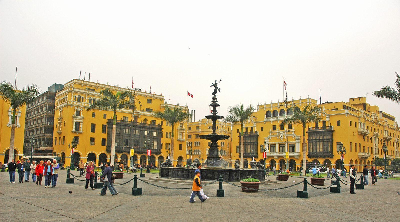 Plaza Mayor, Lima, Peru   Beautiful Capitals   Pinterest ...