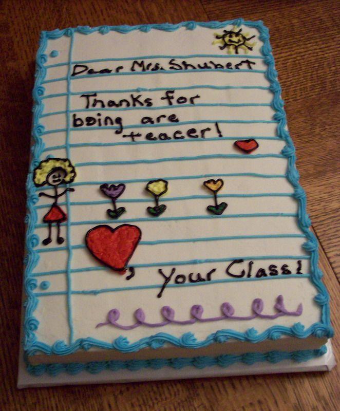 Teacher Appreciation Cake Teacher Cakes Teacher Birthday Cake Teachers Day Cake