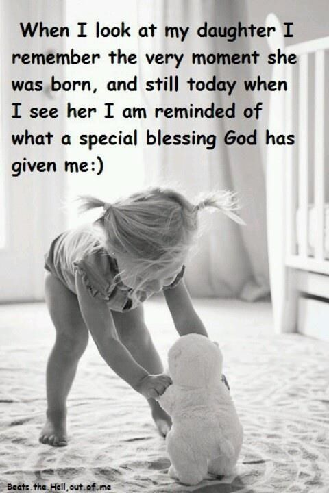 I Am Blessed Quotes Pinterest Blessings Girls And Child
