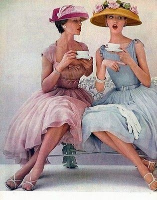 heirloom philosophy- teatime ladies