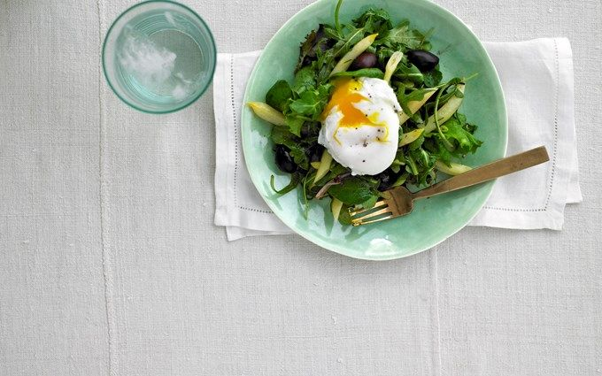 Herbed French Salad with Eggland's Best Eggs #recipe #egglandsbest
