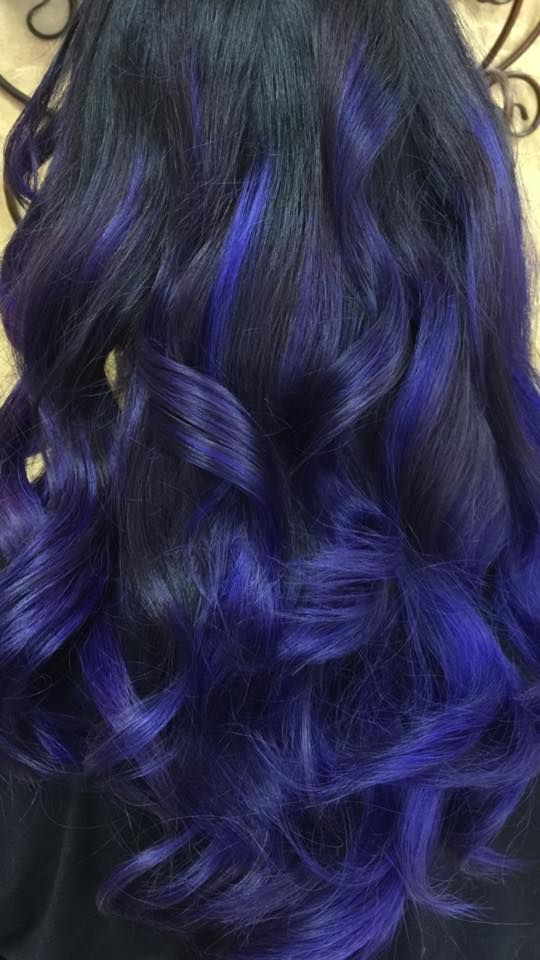 1000+ images about Violet Balayage on Pinterest