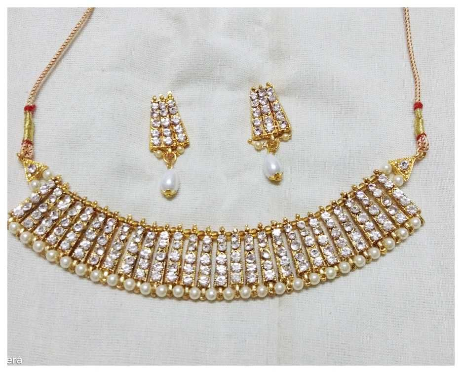 f1dafe3e64f74 Beautiful designer necklace at ₹483. (PID: 103616) Beautiful ...