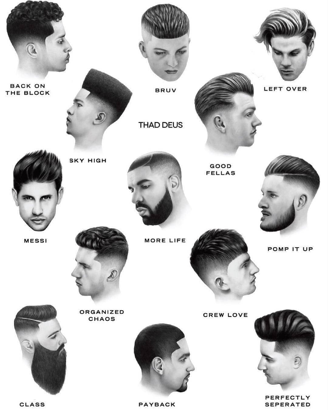 Comment Your Favourite Hairstyle Credit Thad Deus Menshairworld The Amsterdam Barber Bar Gents Hair Style Mens Hairstyles Hair And Beard Styles