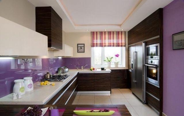 Peinture cuisine et combinaisons de couleurs en 57 idées fascinantes - küche hochglanz grau