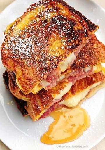 MONTE CRISTO SANDWICH - (Free Recipe below) #montecristosandwich