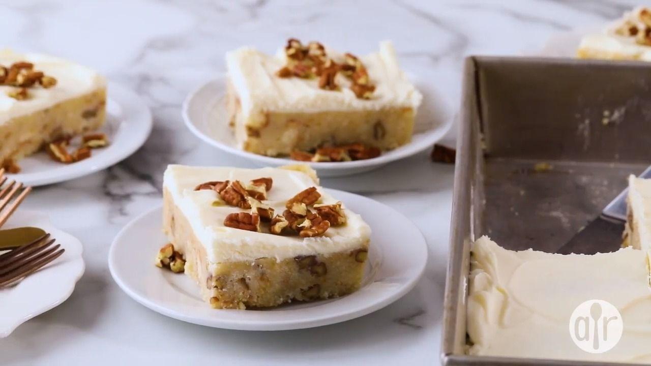 Carolina butter pecan cake bars recipe butter pecan