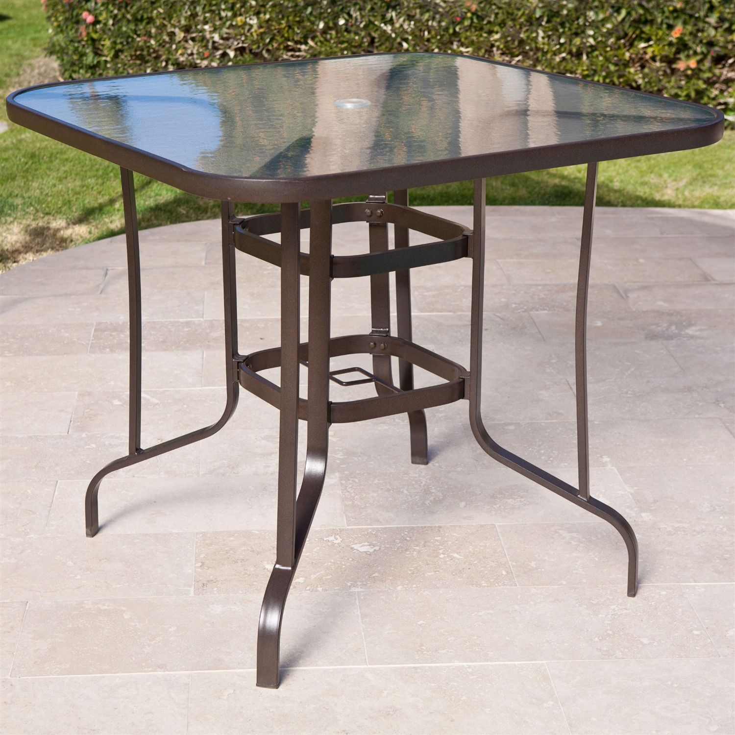 Glass top patio dining table furniture ideas pinterest glass top patio dining table watchthetrailerfo