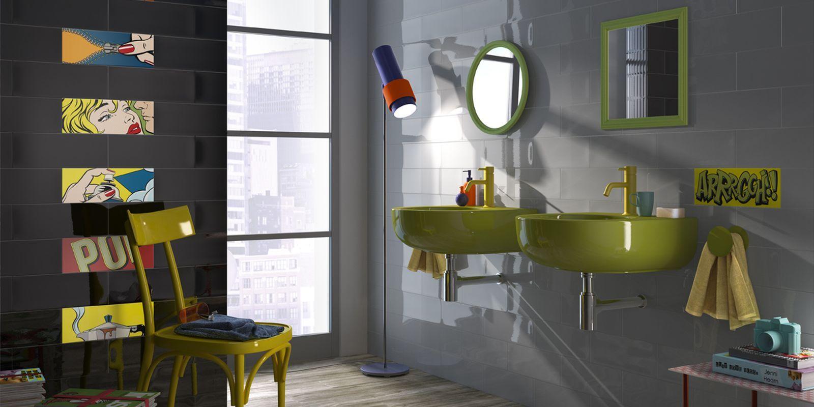 tiles pop salle de bain moderne ceramic double cuisson pour revtement am pop 2
