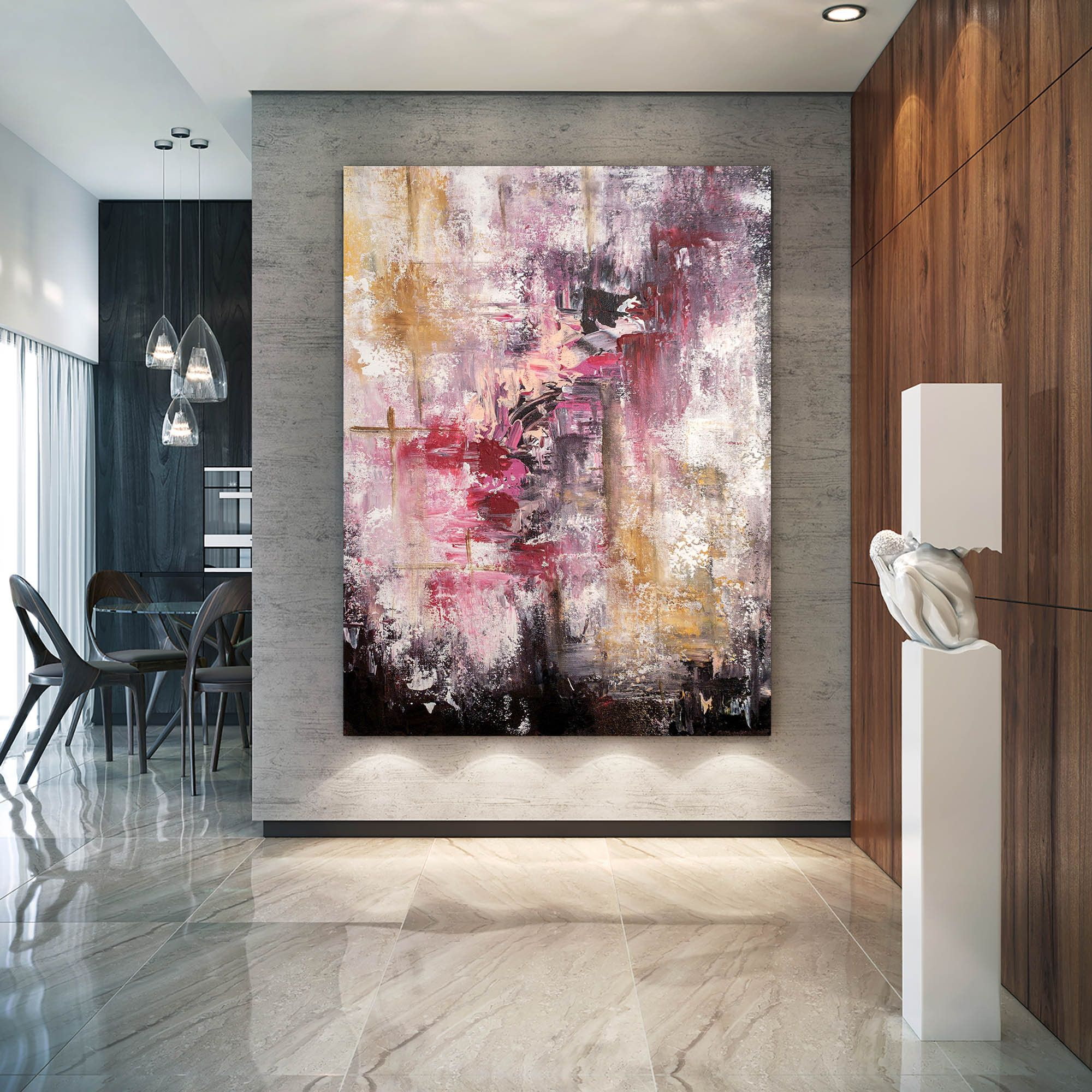 Large Abstract Painting Modern Abstract Painting Painting For Home Oil Paintings Abstrac Large Abstract Wall Art Large Modern Wall Art Modern Abstract Painting