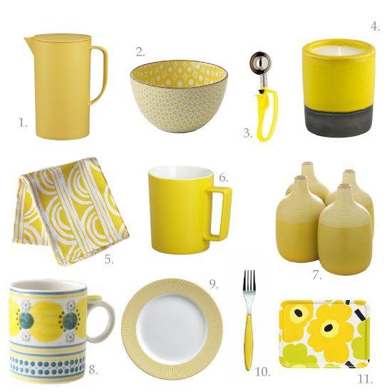 Chocolate Shavings Jenn S Favourite Kitchen Things Mellow Yellow Yellow Kitchen Accessories Yellow Home Decor Yellow Kitchen