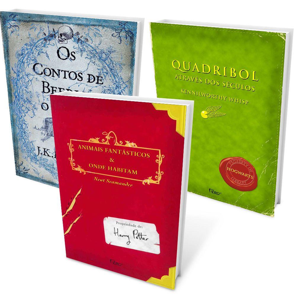 Kit Livros A Biblioteca De Hogwarts 3 Volumes Submarino Com