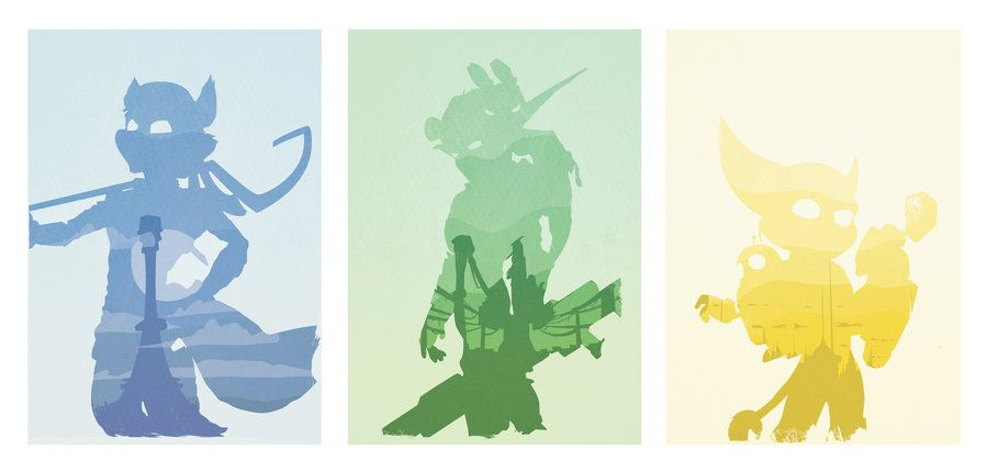 Sly Cooper, Jak And Daxter, Rachet And Clank