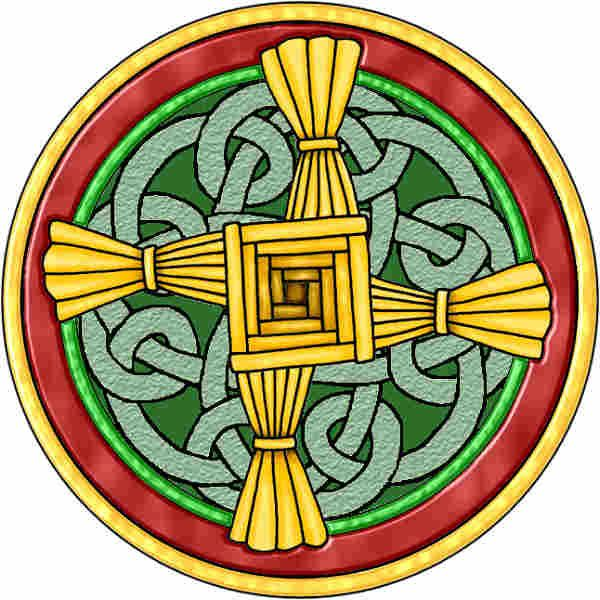 St. Brigid's Cross | St brigid, St brigid cross, Brigid's cross