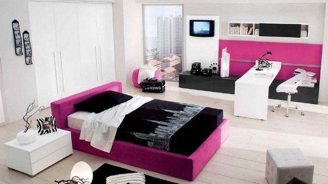 Quelles couleurs accorder pour une chambre du0027ado tendance ? Pink