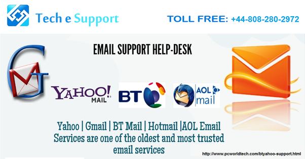 BT Yahoo Email Support +448082802972 Number For You