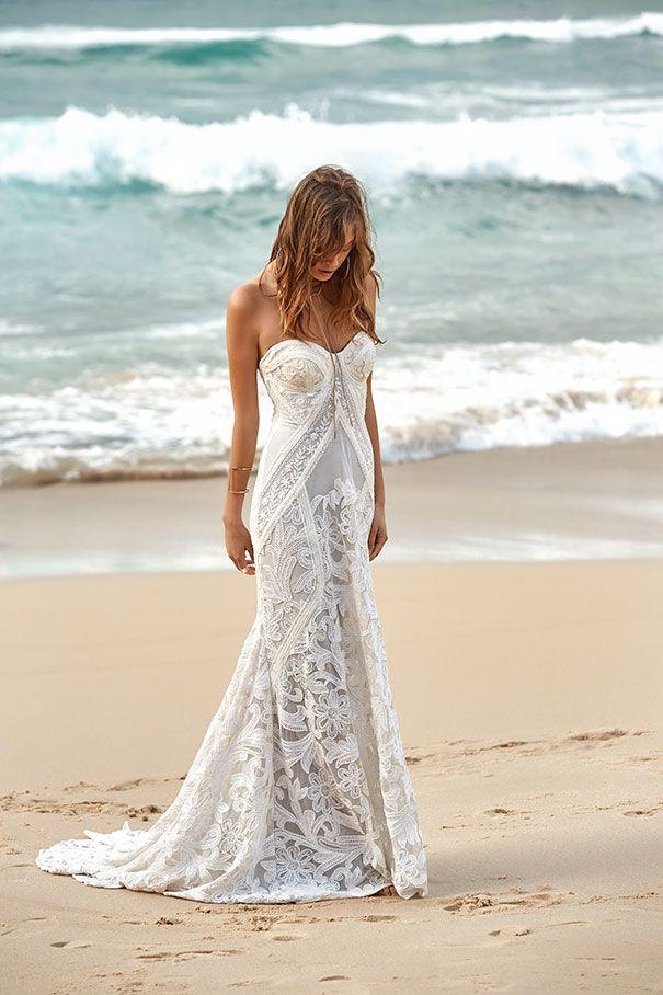 Bohemian Chic Wedding Dress - Rue de Seine | - OUR COLLECTION ...